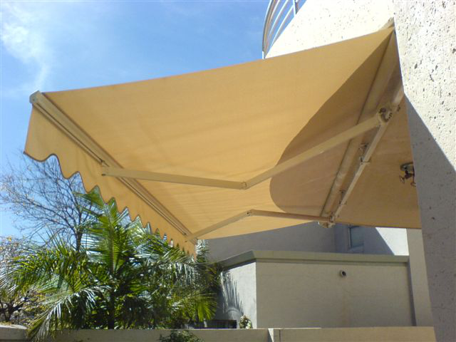 Portofino Retractable Alulux Awnings Cape Town
